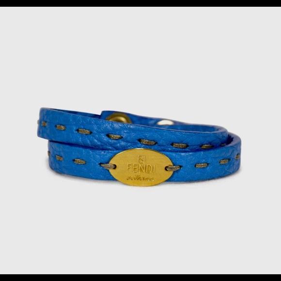 Fendi Jewelry - Fendi Selleria Wrap Bracelet